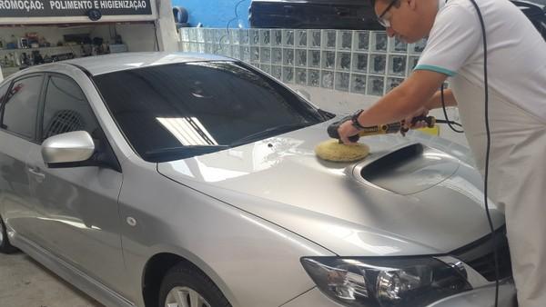 Encerar Carro no Jardim Rutinha - Espelhamento de Pintura Automotiva