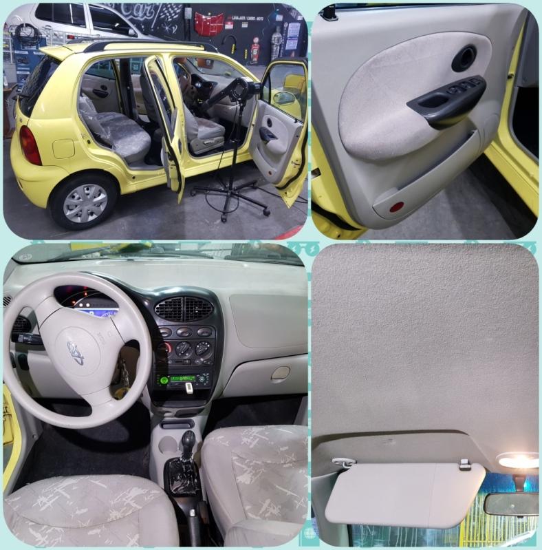 Higienização Automotiva Interna Embira - Higienização Completa de Veículos
