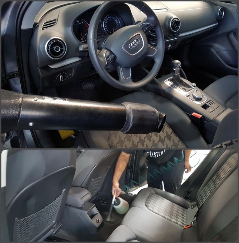 Higienização Estofados Automotivos Jardim Beatriz - Higienização Interna Carro