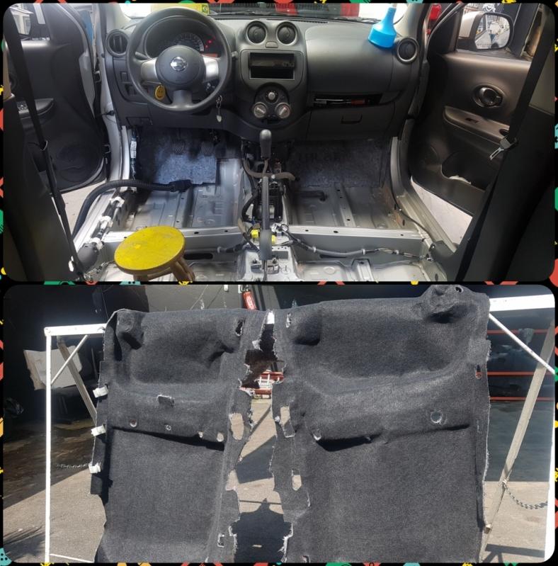 Higienização no Carro Chácara Sonho Azul - Higienização Automotiva Completa