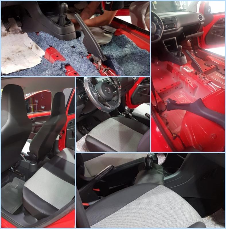 Limpeza Automotiva a Seco Recanto dos Sonhos - Limpeza Automotiva Detalhada