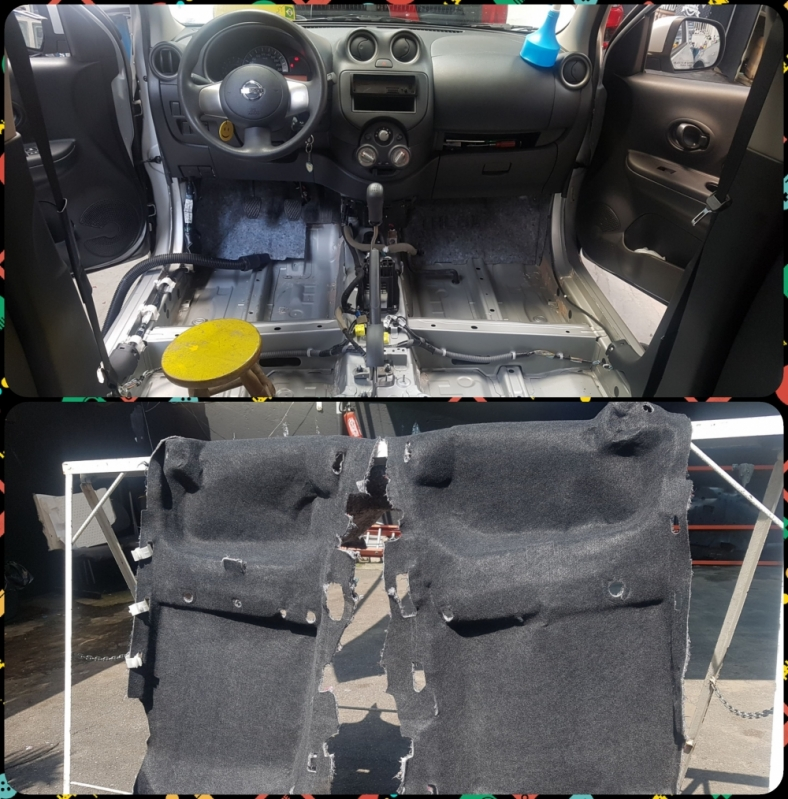 Limpeza de Ar Condicionado Automotivo Jardim Fernandes - Limpeza Teto Automotivo