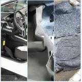higienização interna carro Vila Liviero