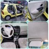 higienização interna de carros