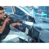 Higienização interna de veículos na Vila dos Andradas