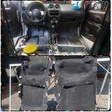 higienização no carro Jardim Vaz de Lima