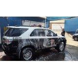 Lava jatos de carros no Jardim Tango