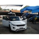 Lavagem a seco de carros na Cidade Júlia