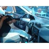Lavagem a seco de carros na Vila Zilda