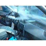 Lavagem automotiva com vapor na Chácara Inglesa
