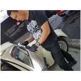 limpeza de estofado automotivo Sapato Branco