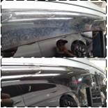 Polimento de pára-brisa automotivo
